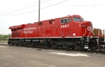 CP 8851, ES44AC, washed and ready for display at Franklin Park Railroad Days