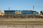 CSX 5327, ES44DC, westbound on the BNSF at Eola Yard
