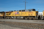 UP 5504, GE C45AC, is at UPs Bailey Yard