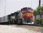 ATSF C44-9W 622
