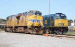 UP 5495 at Moncrief Yard