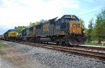 CSX 8556 on CSX M744 passing an empty grain train