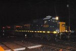 Freshly painted CSX SD50-2 8630 leads Q301-18