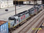 Back view of Z776 (KCS Tuscaloosa to CSX)engines