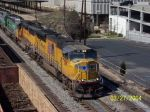 up 5119 leads CSX 684 downtown B'ham