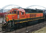 BNSF 2206, left side view