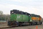 2-16-12 BNSF 2128 GP38AC (SLSF#652)
