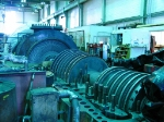 Another view of the turbine