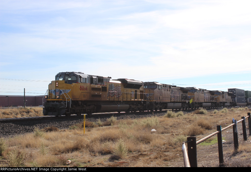 UP Stack Train in Antelope