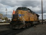 UP 5285 Switches at Roseville