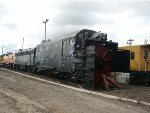 SP Rotary Snowplow at Roseville