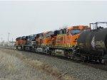 BNSF ES44DC 7210, NS ES40DC 7526, BNSF ES44C4 6817 & BNSF ES44DC 7643