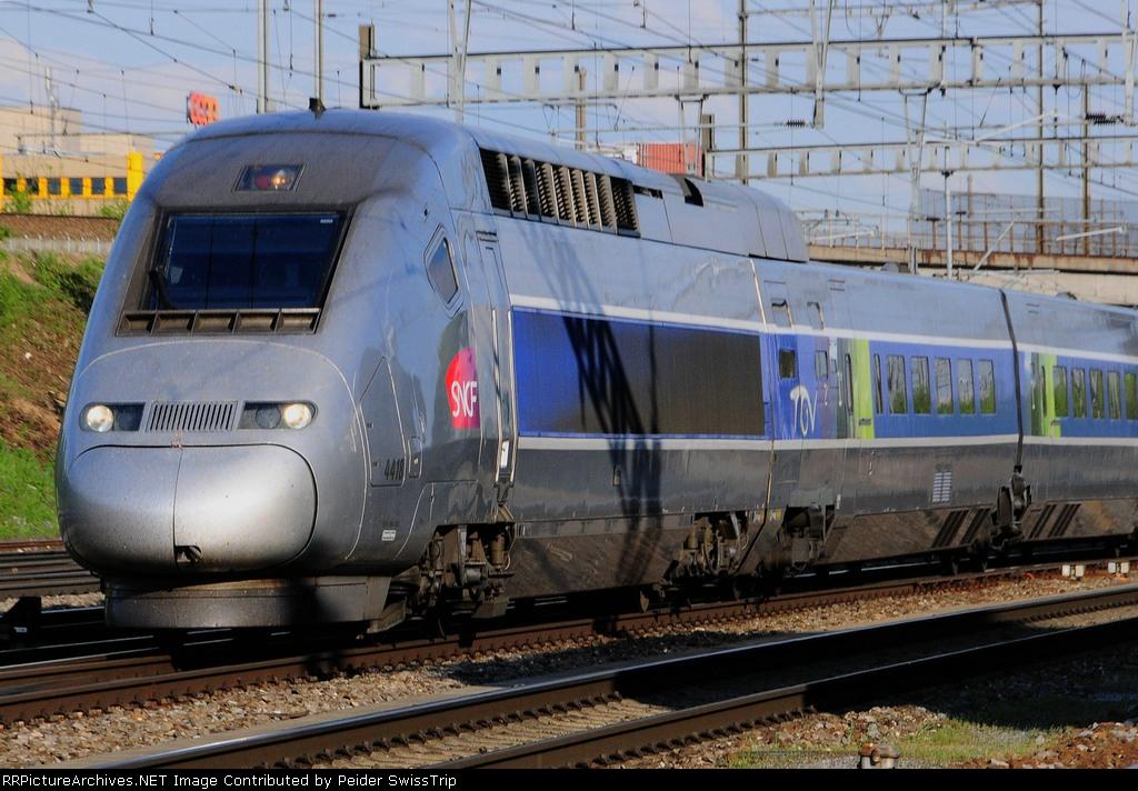 TGV POS 4418  - SNCF French National Railways