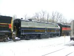 CVSR 800 sits in the yard waiting for the spring. Sadily CVSR 6777 had an engine fire, and is now a parts unit.