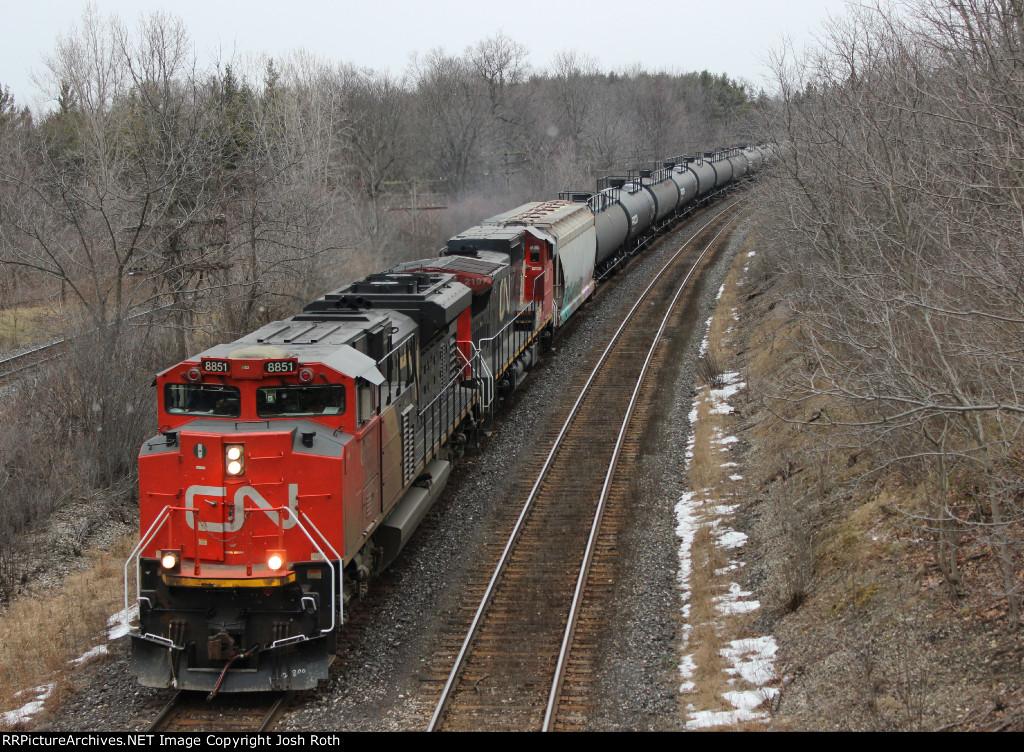 CN 8851 & CN 2197