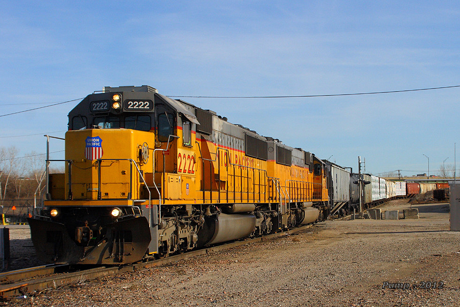 Westbound UP Yard Job Train