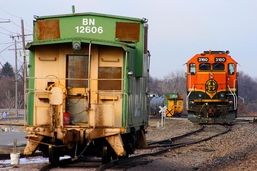 BNSF Local Train at Lenexa, KS