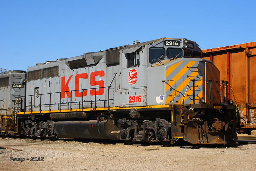 KCS 2916 - EMD GP40-2LW