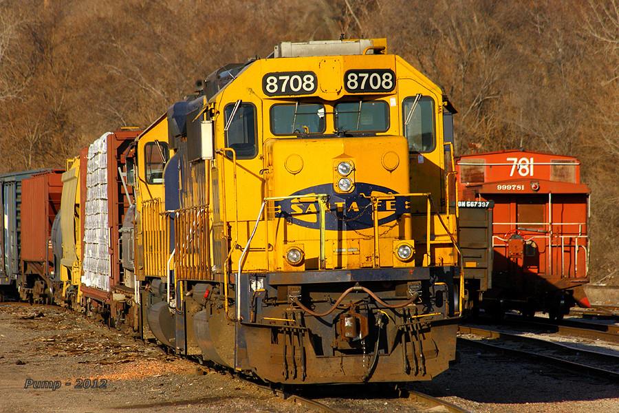 BNSF Local Train