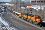 Baretable heads east to the Midway Intermodal Terminal