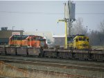 BNSF GP50 3205, BNSF GP39-3 2659, BNSF MP15DC 3704 & BNSF GP60 8712