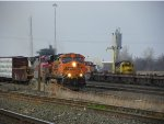 BNSF ES44DC 7625, BNSF MP15DC 3704 & BNSF GP60 8712
