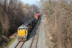 NS 11R southbound with a High & Wide