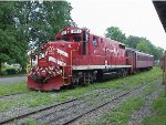 VTR 801 on the Cooperstown & Charlotte Valley