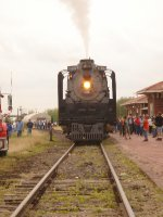 FEF-3 no. 844 with the South Central States Heritage Express
