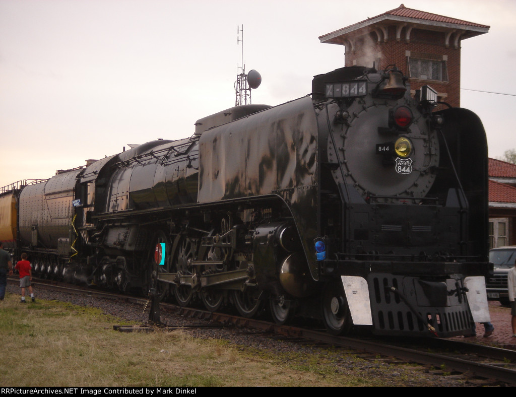 Union Pacific FEF-3 locomotive no. 844