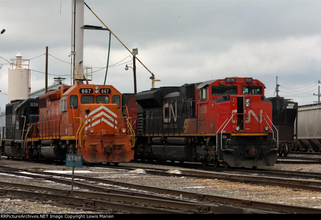 CN Decatur Yard