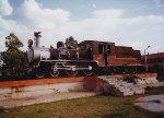 641 preserved outside Jaipur station