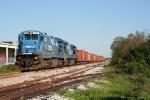 CSX W008 ballast train