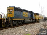 Visiting CSX 4020 is a rebuild with a funky new cab design