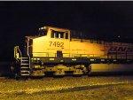 BNSF ES44DC 7492
