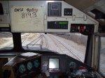 BNSF 8193 Cab View