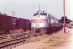 1973 - Amtrak Floridian Arrives in Montgomery