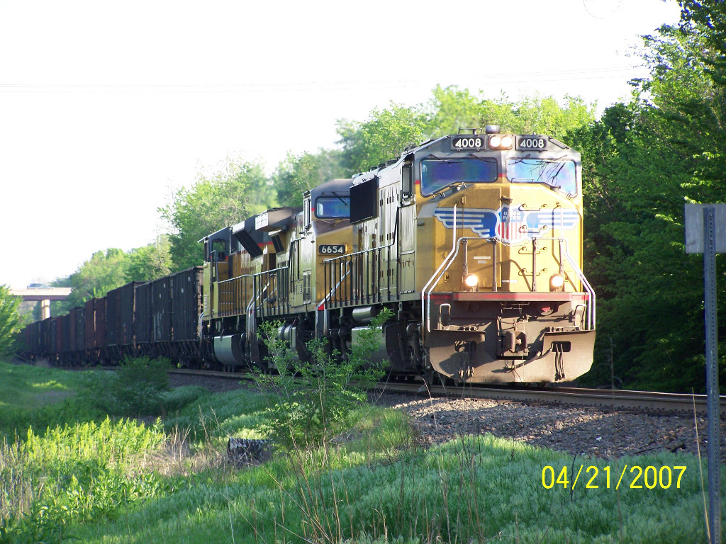 UP SD70M 4008