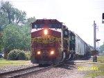 ATSF C40-8W 834
