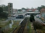Felixstowe Station from Garrison Lane bridge