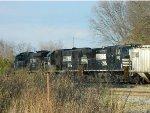 NS 7644(SE40DC)  2530(SD70)  8992(C40-9W)