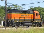 BNSF 2659 is yard service at emporia,