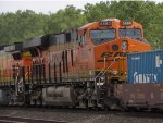 BNSF 6680 is 3rd on this stack train.