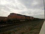 BNSF ES44AC 6189 & BNSF ES44DC 7607