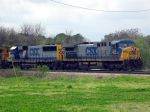 CSX Waiting to Head North at Decatur Junction for BNSF Coal Train