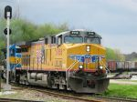 UP Leading Mixed Power East on NS Track