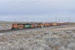 BNSF 1034 Leading Westbound SPOPAS (I think)
