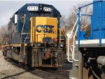 CSX 2732 And CEFX 2010 In Ridgefield Park, NJ