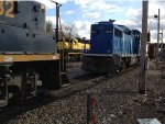 CSX 2732, NYSW 3018, And CEFX 2010 In Ridgefield Park, NJ