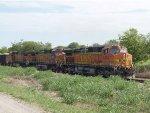 BNSF rock train.